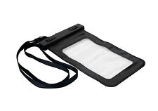 "Waterproof Underwater Cover Case Bag Dry Pouch for iPhone 4 5 6 7 Samsung 5.2"" Black"