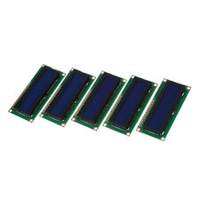 5x 1602 Character LCD LCM Display Module HD44780 Controller Blue Backlight I9A3