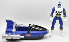 Power Rangers Lost Galaxy Blue Jet Jammer With Blue Ranger Loose Bandai 1998
