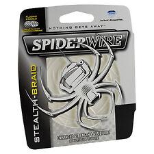 Berkley Spiderwire Stealth Braid 20lb 200yd 20-200 Line Scs20T-200 Translucent