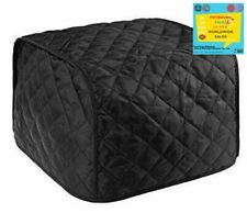 Polyester Fabric Quilted Four Slice Toaster Appliance Dust-Proof Cover,Dust and