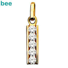 Ladder Of Love Gemstone 9ct Solid Yellow Gold Pendant 63795