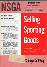 OCTOBER 1959 NATIONAL SPORTING GOODS ASSOCIATION MAGAZINE-NSGA-OUTDOOR DEALERS