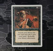 Tutor demoníaco (Demonic Tutor) MP ? ENG ? Revisado ? MTG Magic Commander EDH Cube Vintage Legacy