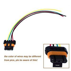 4 Way Alternator Plug Connector For GM CS130D, AD230, AD237 & AD244 15306009 New