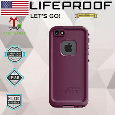 LIFEPROOF FRE Case Cover Waterproof Crushed Purple Apple iPhone SE iPhone 5s & 5