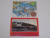 Antler Motel Friendship Inn Jackson Hole Wyoming Postcard Lot Vintage Old Set 2