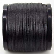 1.5mm x 10m Dyneema SK78 Black Rope -480kg Rated- Synthetic Fishing Marine Yacht