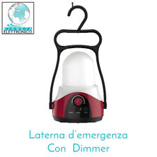 LAMPADA D'EMERGENZA - LANTERNA RICARICABILE A LED ANTI BLACK-OUT CON DIMMER