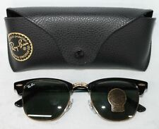 NEW RAY-BAN Clubmaster Men's G-15 Lens Sunglasses RB 3016 W0365 49 21 140