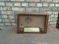 "Vintage Tube Radio Very Rare ""RODINA"" USSR radiola radiogram 50s"