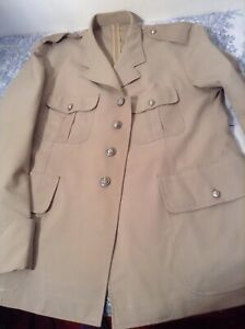Vintage French Made Army Uniform - J Veyrier Paris 1965 (2334)
