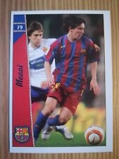 La Liga 2006/2007 new card #19 Lionel Messi - Fútbol Club Barcelona