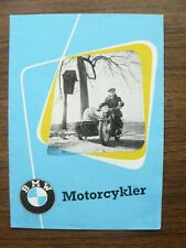 BMW Motorcycles  R 25/3  R 50 R 67/3 R 69 Ad Brochure + Price List February 1955