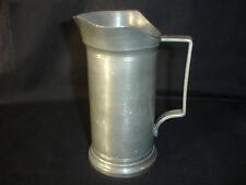Old Vtg Collectible AF Pewter Jug Mug Creamer With Unique Top