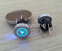 5pcs 6*6mm Blue Led Dia 10mm Cap OK 12V Momentary Tact Push Button Switch