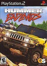 HUMMER BADLANDS rare PLAYSTATION 2 Game OFF-ROADING Racing COMPLETE