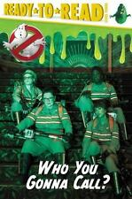 Ghostbusters 2016 Movie: Who You Gonna Call? (2016, Hardcover)