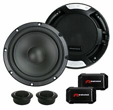 """2 New Renegade RX6.2C 6.5"""" 200W 2 Way Car Component Audio Speakers System Stereo"""