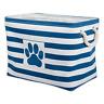 Pet Toy Storage Box Large Basket Bin Puppy Stuff Dog Supplies Cat Chest Treats