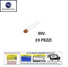 6pz CONDENSATORE CERAMICO A DISCO 1,5pF 50V 3//1005