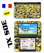 VINYL SKIN STICKER FOR NINTENDO 3DS XL - 3DSXL REF 200 DESPICABLE ME MIGNONS