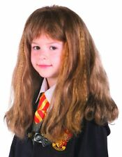 Hermione Granger Costume Wig Child Kids Harry Potter Brown Accessory LICENSED