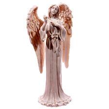 Ange debout holding star sa main jardin figurine statue ornement jardin 20cm