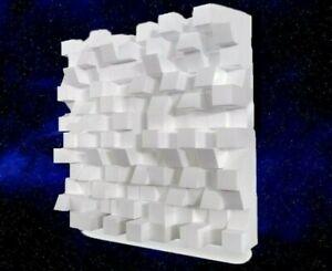 Sonitus BigFuser I Skyline Diffuser Raum Akustik Weiß White 2 Stück Dämmung
