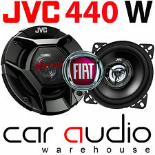 Fiat Punto 1999 - 2005 JVC 10cm 440 Watts 2 Way Rear Parcel Shelf Car Speakers