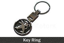 Peugeot Métal Porte-clés Clé Chaîne Porte clés Porte-clé breloque de clé Noir /