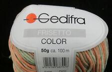 (79,00 €/kg): 450 Gramm Frisetto Color von  Gedifra, Farbe 8802 grün orange#1392