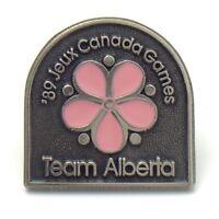 1989 Jeux Canada Games Team Alberta Pinback G021
