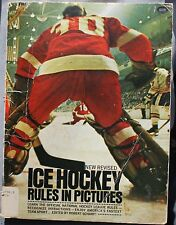 1976 Ice Hockey Rules In Pictures book Grosset & Dunlap FREE USA SHIPPING