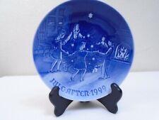 1999 Bing and Grondahl B & G Christmas Plate Dancing on Christmas Mint Condition