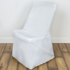 Ivory LIFETIME FOLDING CHAIR COVER Wedding Banquet Party Catering Decorations