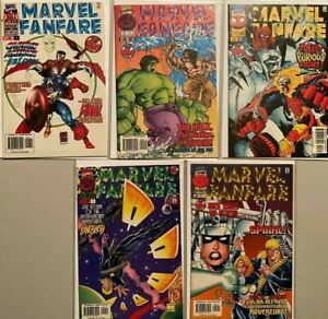 Marvel fanfare lot from:#1-5 2nd Series 5 different books 6.0 FN (1996)
