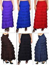 New Tiered Skirt, Ruffle Skirt, Flamenco Skirt, Designer Skirt, Layered Skirt