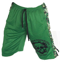 Bodybuilding shorts Gasp wow crossfit GYM CLOTHING green camo fast delivery