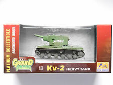 Schwerer Panzer heavy tank Kv-2 II Rote Armee WWII Ground Armor 36282 1:72 boxed