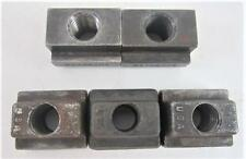 """Assorted Lot of 5 Table Slot Machinist Tooling T-Slot Nuts  5/8""""-11 #2"""