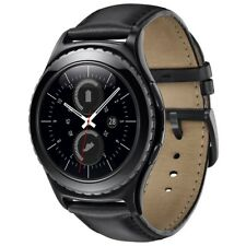 SAMSUNG GALAXY GEAR S2 R7320 BLACK ANDROID WEAR SMARTWATCH HANDYUHR TRACKER