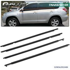 For Toyota Rav4 2009 2010 2011 2012 Window Weatherstrips Moulding Trim Seal Belt (Fits: Toyota)