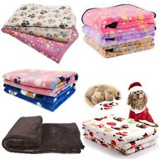 Dog Cat Puppy Pet Plush Blanket Mat Soft Warm Sleep Bed Mat Cushion 104*76Cm