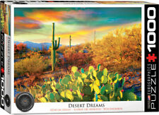 "Eurographics  -  ""Desert Dreams"" - 1000 piece Jigsaw Puzzle NEW"