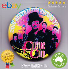 Culture Club 2016 Australian Tour Badge - Boy George 80's Retro Concert Encore
