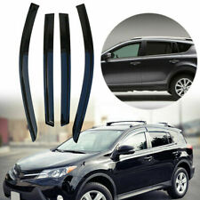 ABS Rain Guards Weather Vent For Toyota Rav4 2013-2018