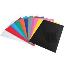 Heat Transfer Vinyl Bundle A4 Size 10 Pack of Assorted Color DIY T-Shirt Vinyl