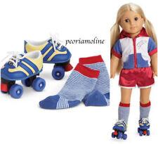 American Girl JULIE ROLLER SKATE SET- Socks NEW~Retired~Ivy~Maryellen~Sport