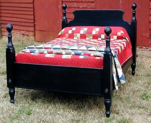 French Country Pine TAVERN BED, FULL Size, USA Hand Made Reproduction